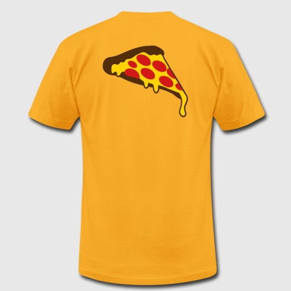 Pizza Slice Pepperoni T-shirt Spreadshirt
