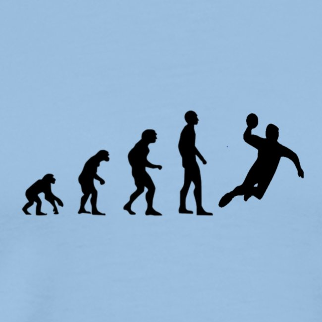 handball evolution cool schatten insider manner premium t shirt