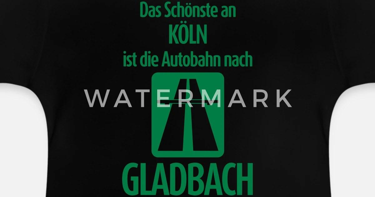 autobahn nach gladbach anti koln baby t shirt spreadshirt