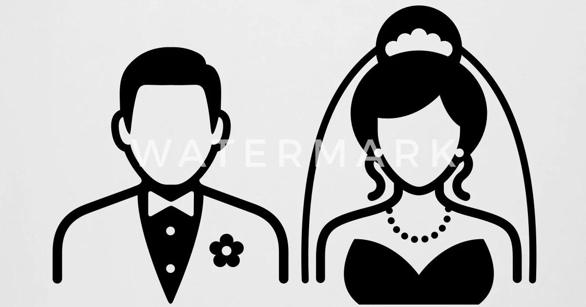Ehepaar  Brautpaar von FunnySloganTShirts  Spreadshirt
