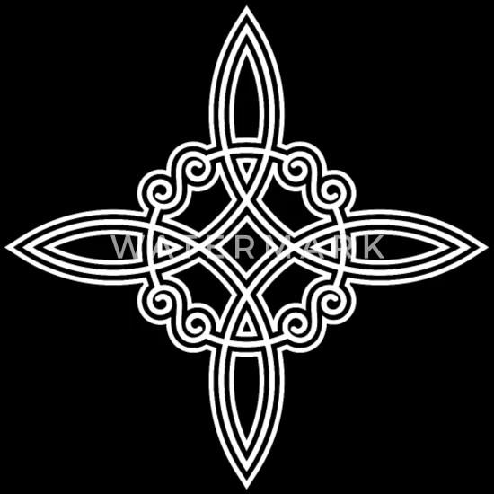 Wicca Wich Nudo Brujas Nudo Pagan Símbolo Tatuaje Camiseta Premium