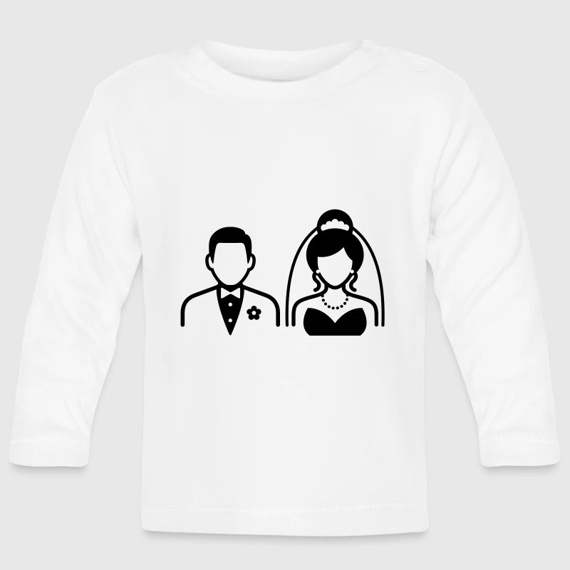 Ehepaar  Brautpaar Baby Langarmshirt  Spreadshirt