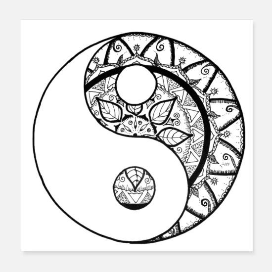 https www spreadshirt de shop design yin yang poster d5c8b98e82225090d707fe41a sellable 5