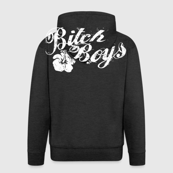 Bitch Boys Logo White Catsinlove Spreadshirt