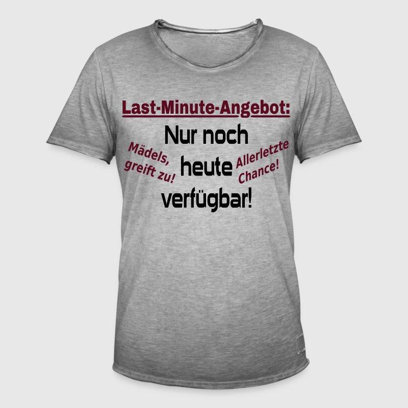 Junggesellenabschied Party Spruch Mnner Vintage TShirt