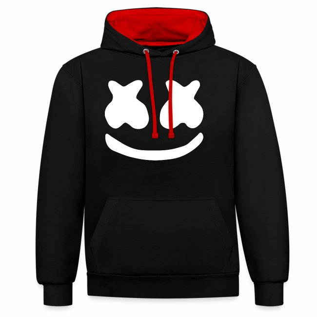 marshmello logo contrast colour