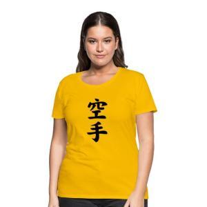 Koszulka damska premium Karate