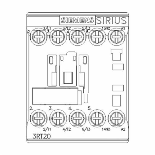 SIRIUS 3RT20151AK61 Instantaneous Switching IEC Contactor