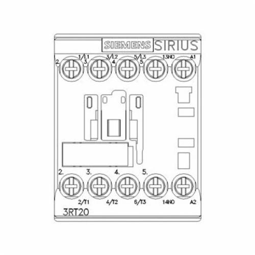 SIRIUS 3RT2015-1BB41 Power Contactor 3RT2015-1BB41, 24 VDC