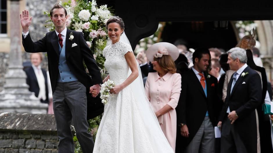 Hochzeit von Pippa Middleton Die schnsten Bilder der Trauung  STERNde