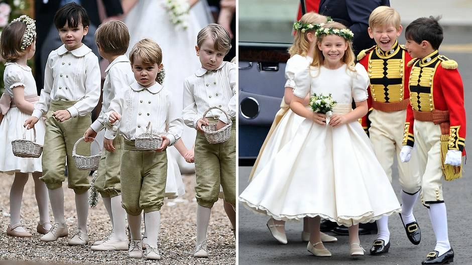 Der Mann das Kleid die Kirche Die Hochzeiten von Pippa und Kate  STERNde