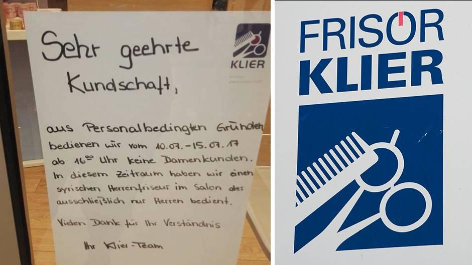 Friseur in Zwickau InfoZettel sorgt fr Shitstorm von