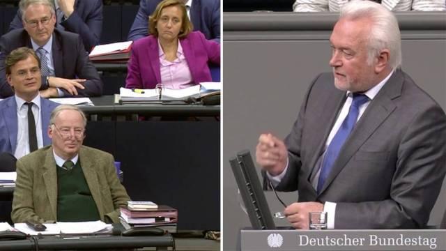 """Brandrede des FDP-Politikers: """"Erbärmlich, unanständig, grenzwertig"""" - Kubicki zerlegt AfD im Bundestag"""