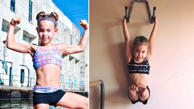 CC Starrz: Sie ist acht Jahre alt und auf Instagram schon ein Fitnessstar