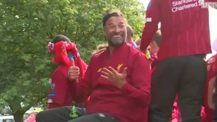 Jürgen Klopp can be celebrated in Liverpool