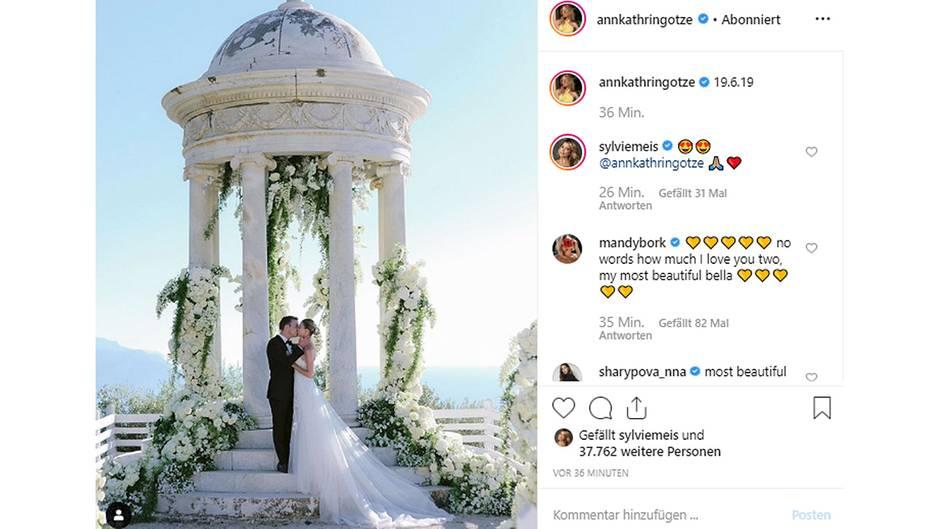 Vip News Mario und AnnKathrin Gtze feiern Hochzeit auf