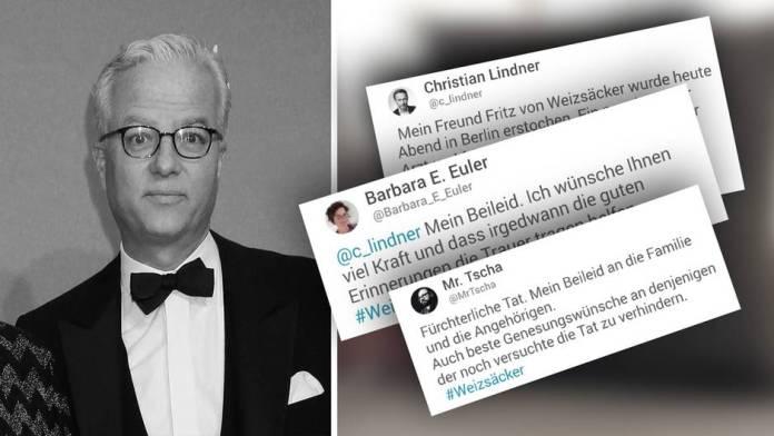 Twitter users react to the death of Fritz von Weizsäcker