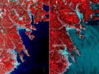 Imaginea Japoniei dupa tsunami, vazuta din spatiu - 7