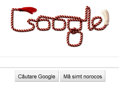 La multi ani de la Google, de Martisor!