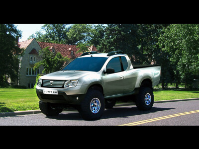 Dacia Duster Papuc, Dacia Duster Pick Up
