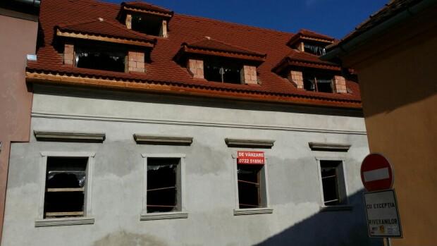 constrcutie moderna Sighisoara