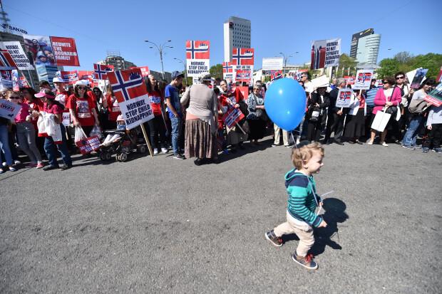 sotii Bodnariu protest