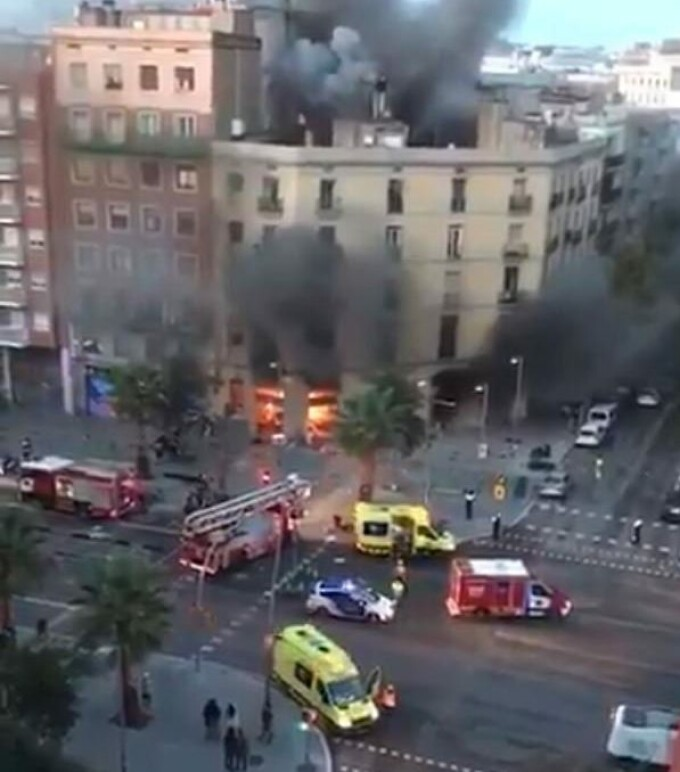 explozii la Barcelona