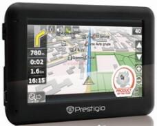 Sistem de Navigatie Prestigio GeoVision 4050,
