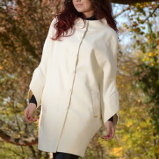 Palton Fashion Crem (Capa)