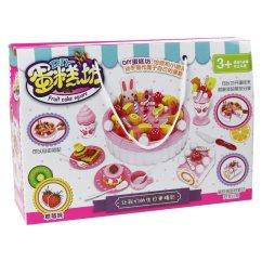 Little Girl Kitchen Sets Booth Table For 儿童过家家生日蛋糕玩具仿真厨房宝宝水果切切乐小女孩生日礼物79件套奇异 儿童过家家生日蛋糕玩具仿真厨房宝宝水果切切乐小女孩生日