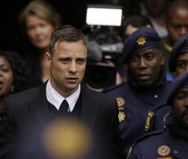 In This Tuesday June   File Photo Oscar Pistorius Leaves The