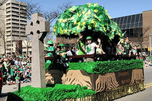 Cute Leprechaun Wallpaper St Patrick S Parade Float And Band Winners Announced