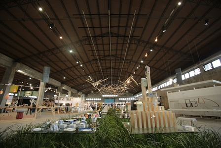 yilan chair design competition 2018 plus size folding lawn chairs taiwan expo gets underway in today a total of 800 wooden birds by eguchi toys hang from the ceiling theme pavilion at nov 21 to dec 6 chung hsing cultural
