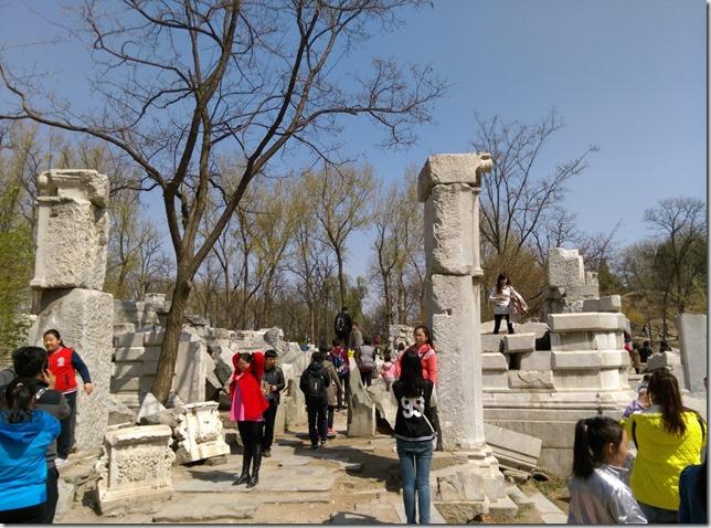37_thumb1 Beijing-圓明園 英法聯軍毀的差不多了 但還是被列入世界文化遺產