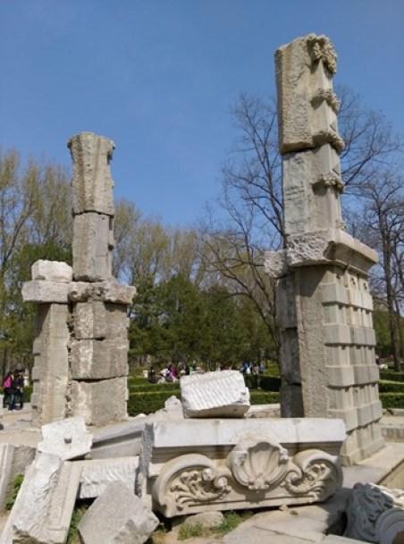 48 Beijing-圓明園 英法聯軍毀的差不多了 但還是被列入世界文化遺產