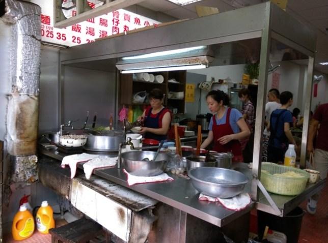 1132 新竹-公園黑乾麵 銅板美食