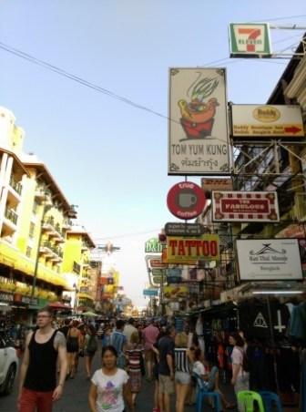 Khaoshan26 Bangkok-高山路Khaosan Road背包客天堂