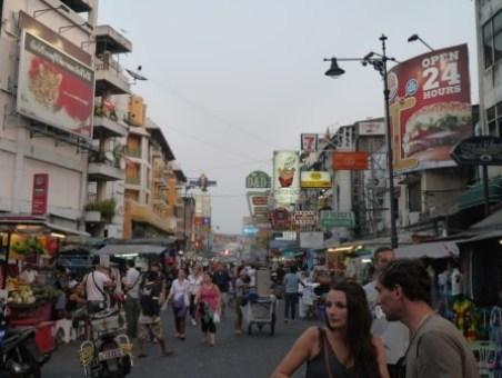 Khaoshan47 Bangkok-高山路Khaosan Road背包客天堂