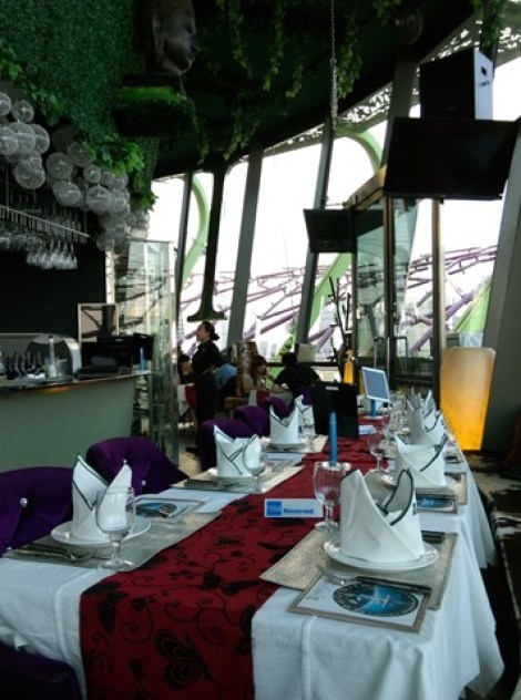 gardenbythebay07 Singapore-IndoChine-Gardens by the Bay中SuperTree上享受美食享受美景