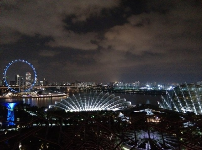 gardenbythebay34 Singapore-IndoChine-Gardens by the Bay中SuperTree上享受美食享受美景