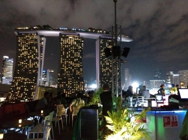 gardenbythebay40 Singapore-IndoChine-Gardens by the Bay中SuperTree上享受美食享受美景
