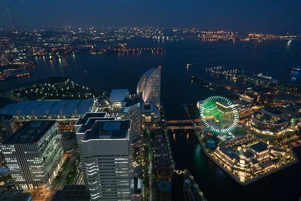 1111 Yokohama-來地標Landmark大樓 賞橫濱港夜景