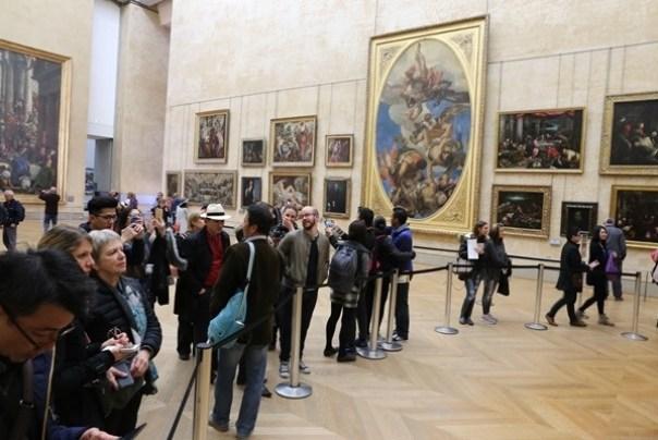 11111016 Paris-巴黎羅浮宮Musee du Louvre 藝術殿堂眼花撩亂看不完 一馬當先看蒙娜麗莎