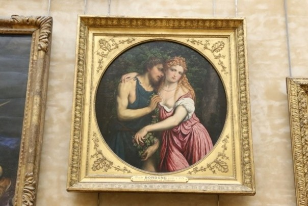 11111020 Paris-巴黎羅浮宮Musee du Louvre 藝術殿堂眼花撩亂看不完 一馬當先看蒙娜麗莎