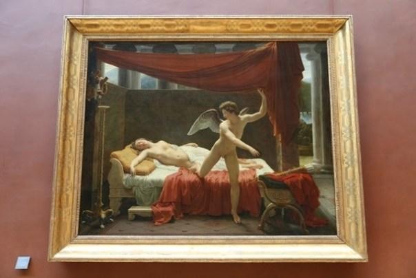 11111024 Paris-巴黎羅浮宮Musee du Louvre 藝術殿堂眼花撩亂看不完 一馬當先看蒙娜麗莎