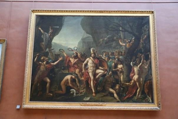 11111025 Paris-巴黎羅浮宮Musee du Louvre 藝術殿堂眼花撩亂看不完 一馬當先看蒙娜麗莎