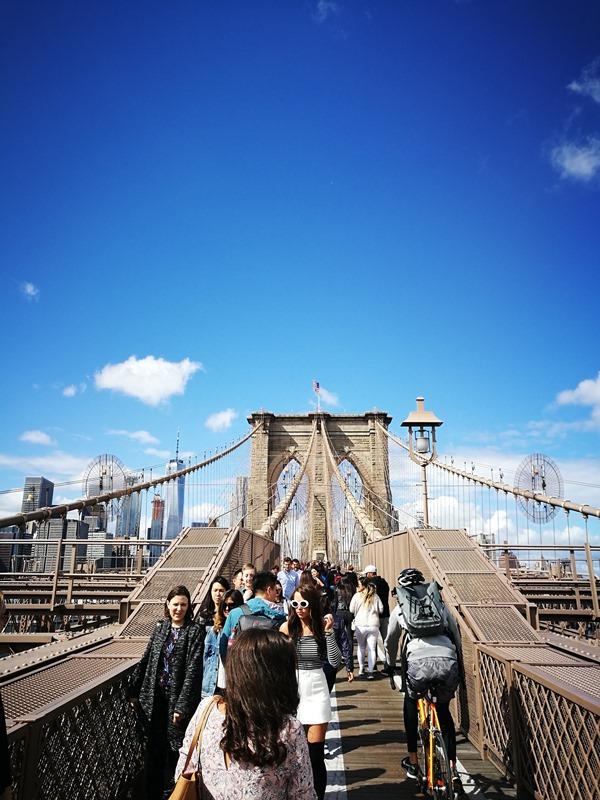 brooklynbridge05 New York-果真大蘋果之紐約真好玩 散步Brooklyn Bridge品味紐約天際線