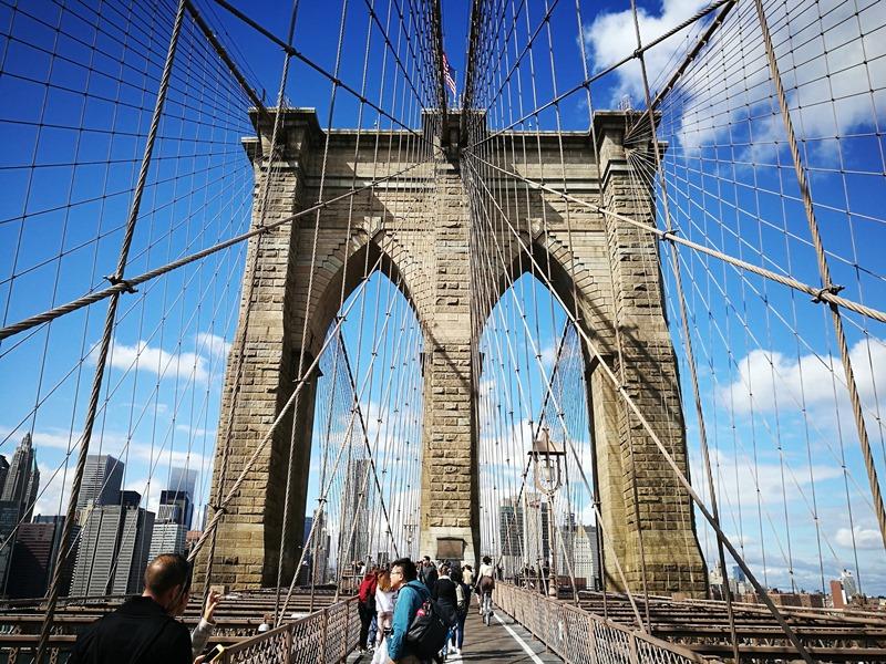brooklynbridge08 New York-果真大蘋果之紐約真好玩 散步Brooklyn Bridge品味紐約天際線