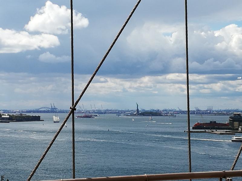 brooklynbridge09 New York-果真大蘋果之紐約真好玩 散步Brooklyn Bridge品味紐約天際線