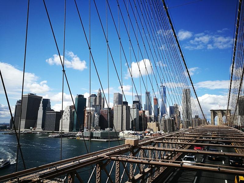 brooklynbridge12 New York-果真大蘋果之紐約真好玩 散步Brooklyn Bridge品味紐約天際線